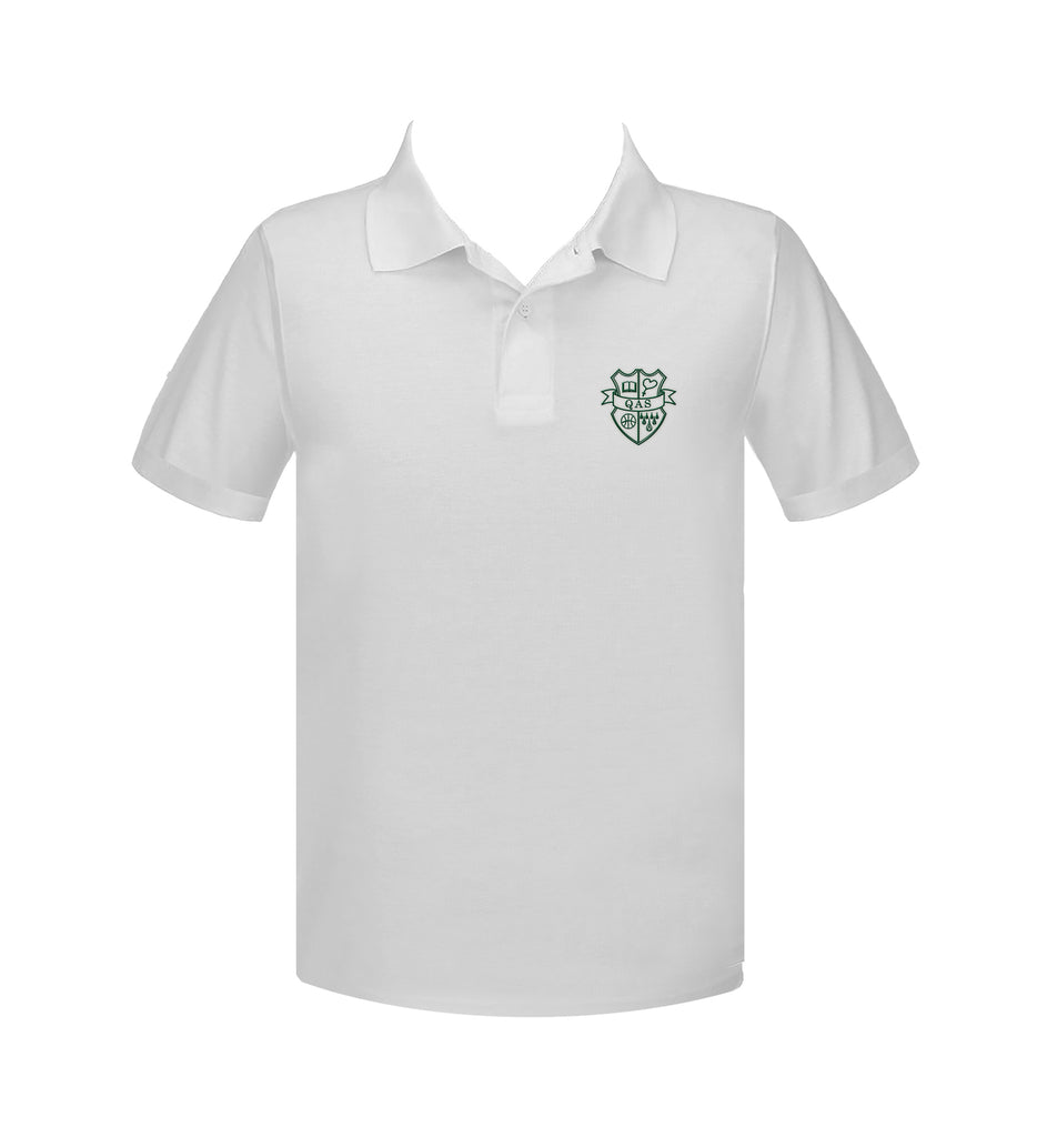 QUEEN OF ALL SAINTS GOLF SHIRT, CHILD