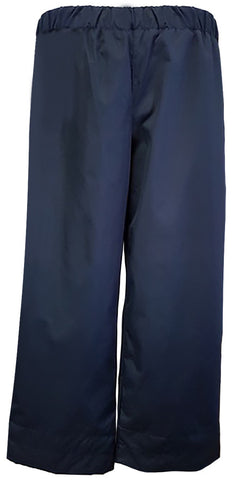 NAVY RAIN SUIT PANTS, WATERPROOF