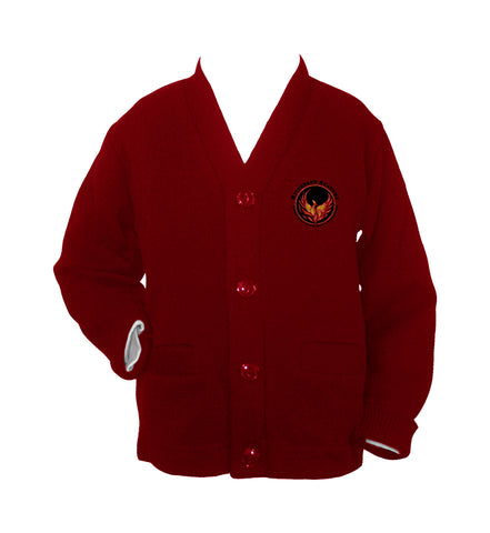 RIVERBEND ACADEMY CARDIGAN, SIZE 44 AND UP