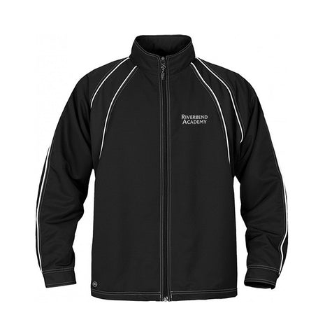 RIVERBEND ACADEMY TRACK JACKET, TWILL, ADULT