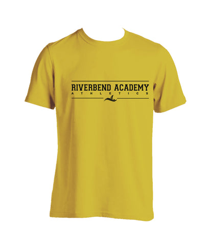RIVERBEND ACADEMY GYM T-SHIRT, COTTON, ADULT