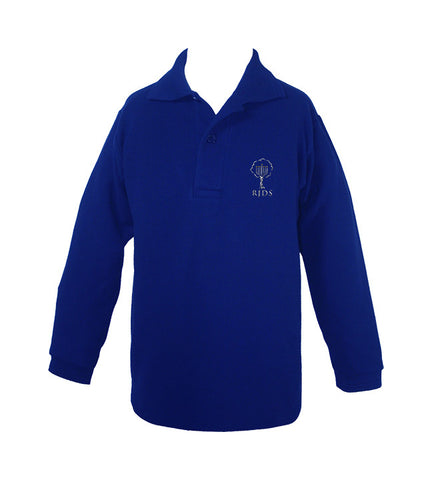 RICHMOND JEWISH DAY GOLF SHIRT, LONG SLEEVE, UNISEX, YOUTH