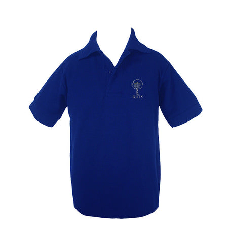 RICHMOND JEWISH DAY GOLF SHIRT, UNISEX, SHORT SLEEVE, CHILD