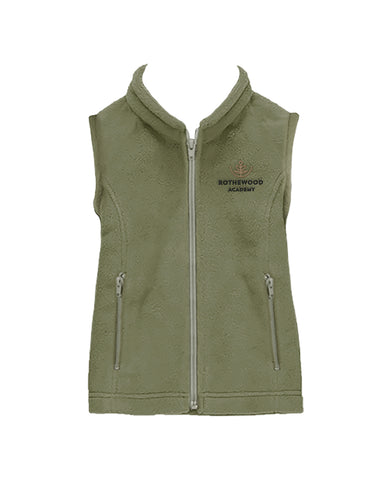 ROTHEWOOD FLEECE VEST, CHILD