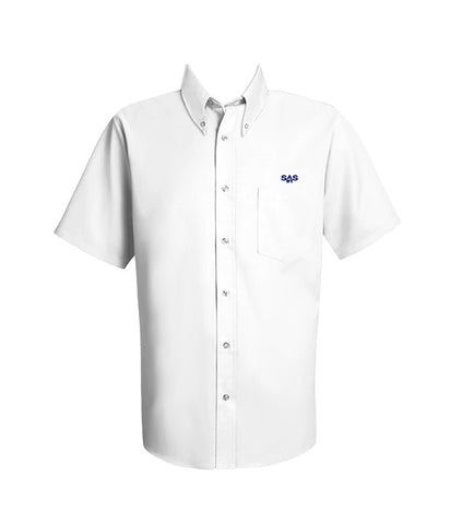 ST. ANTHONY'S DRESS SHIRT, SHORT SLEEVE, MENS <br><strong> FINAL SALE</strong>