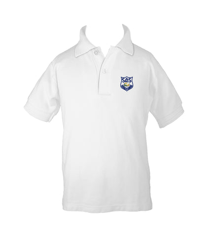 ST. ANTHONY'S GOLF SHIRT, UNISEX, SHORT SLEEVE, CHILD