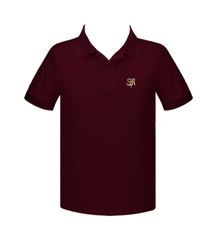 ST. ANTHONY'S GOLF SHIRT, UNISEX, SHORT SLEEVE, ADULT