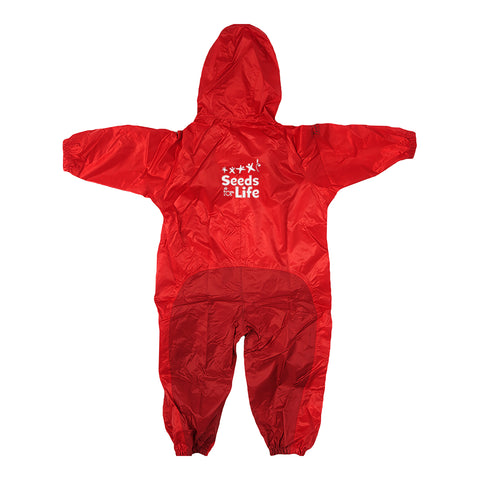 SEEDS FOR LIFE COVERALLS, WATERPROOF, TODDLER