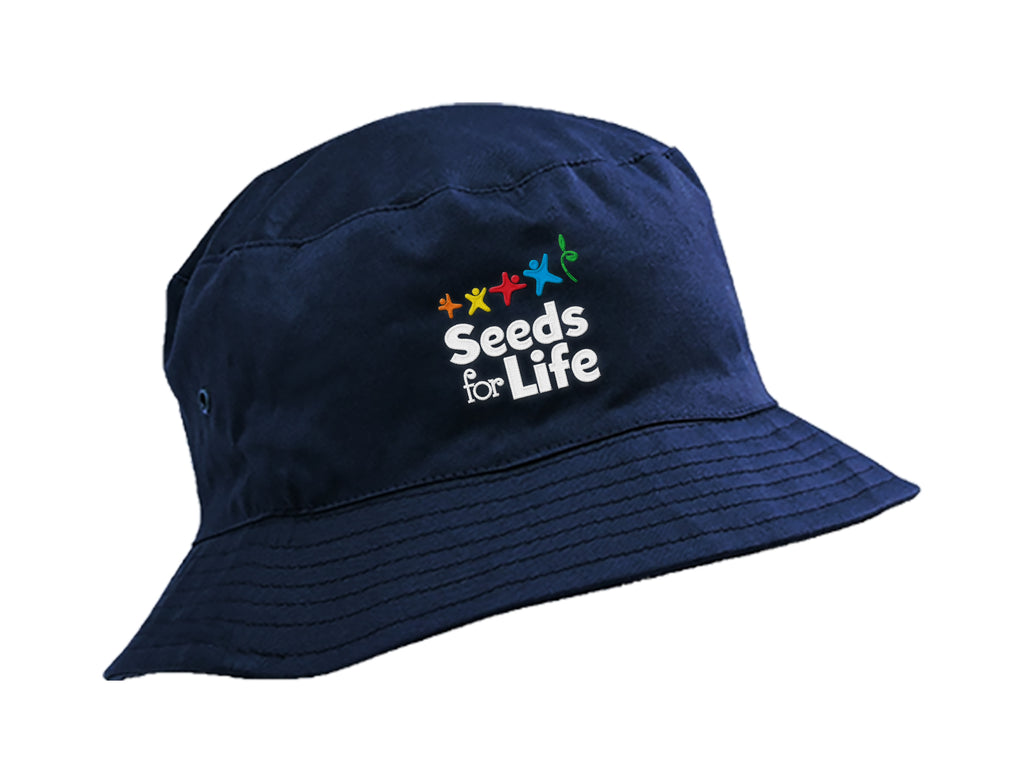 SEEDS FOR LIFE BUCKET HAT