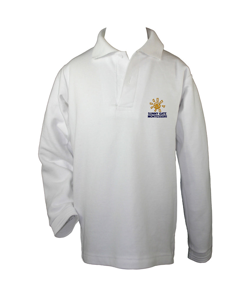 SUNNY GATE MONTESSORI GOLF SHIRT, LONG SLEEVE