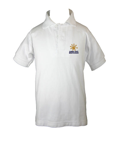 SUNNY GATE MONTESSORI GOLF SHIRT, SHORT SLEEVE