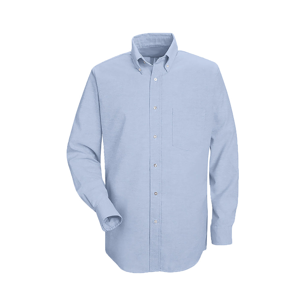 LIGHT BLUE DRESS SHIRT, UNISEX, LONG SLEEVE, YOUTH