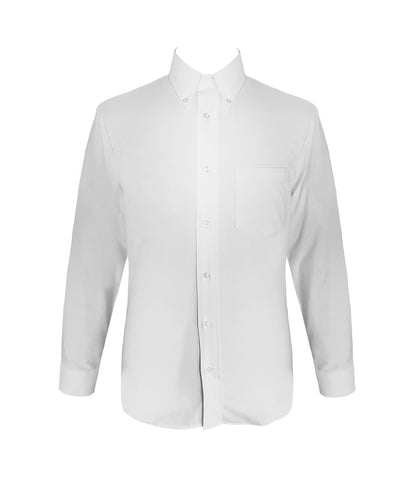 WHITE DRESS SHIRT, LONG SLEEVE, YOUTH