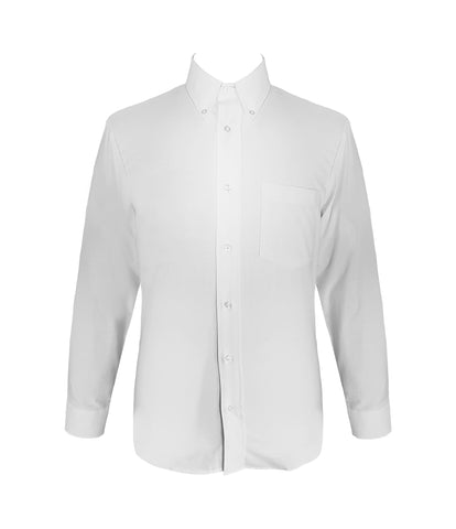 WHITE DRESS SHIRT, LONG SLEEVE, SLIM FIT, MENS
