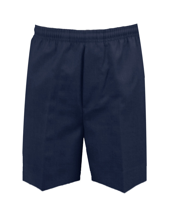 NAVY RUGBY SHORTS, POLY/VISCOSE, CHILD