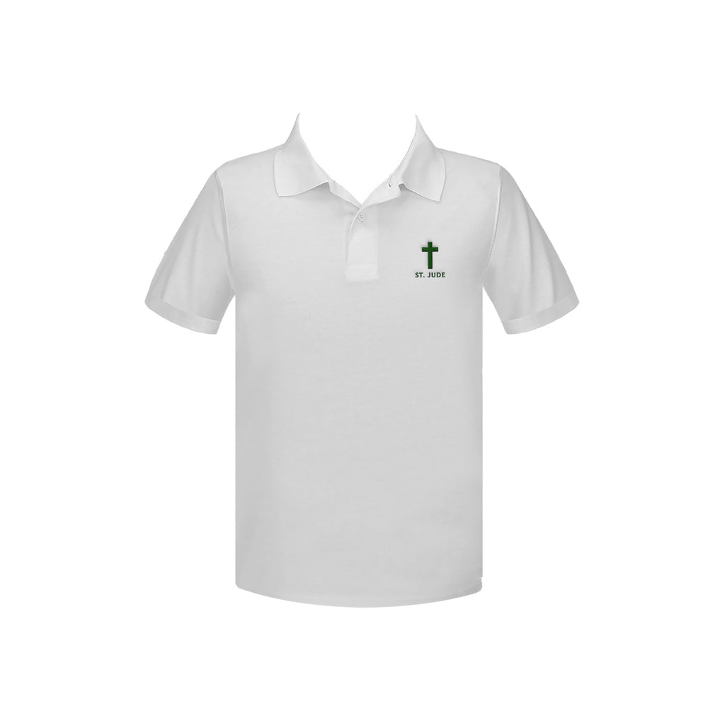 ST. JUDE SCHOOL GOLF SHIRT, UNISEX, SHORT SLEEVE, YOUTH