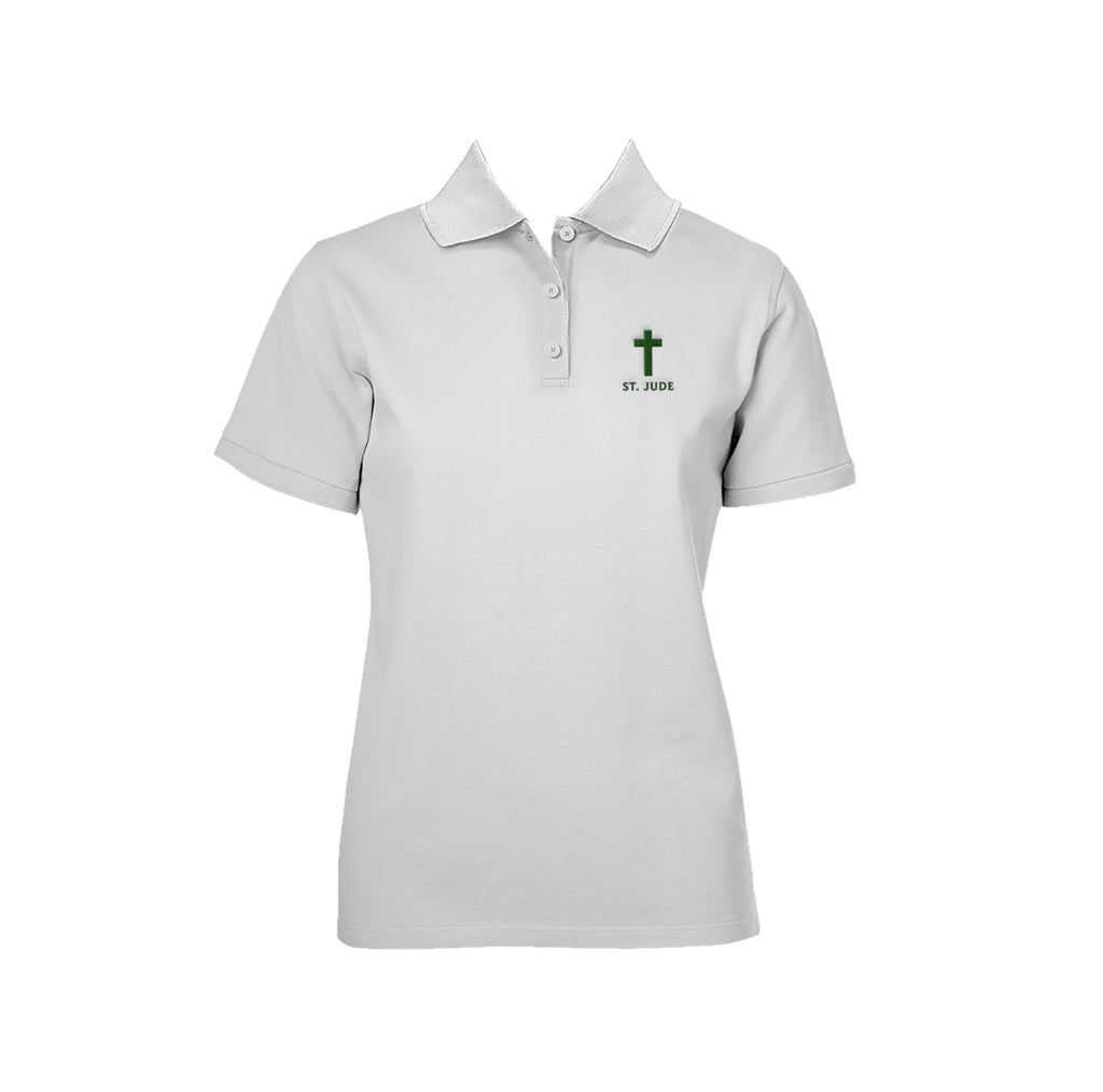 ST. JUDE SCHOOL GOLF SHIRT, GIRLS, SHORT SLEEVE, ADULT