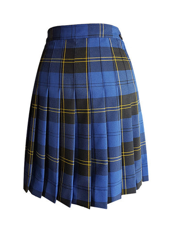 TARTAN SKIRT, SIZE 34 AND UP
