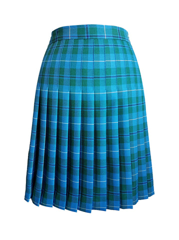 TARTAN SKIRT, REGULAR BACK, SIZE 30 AND UP
