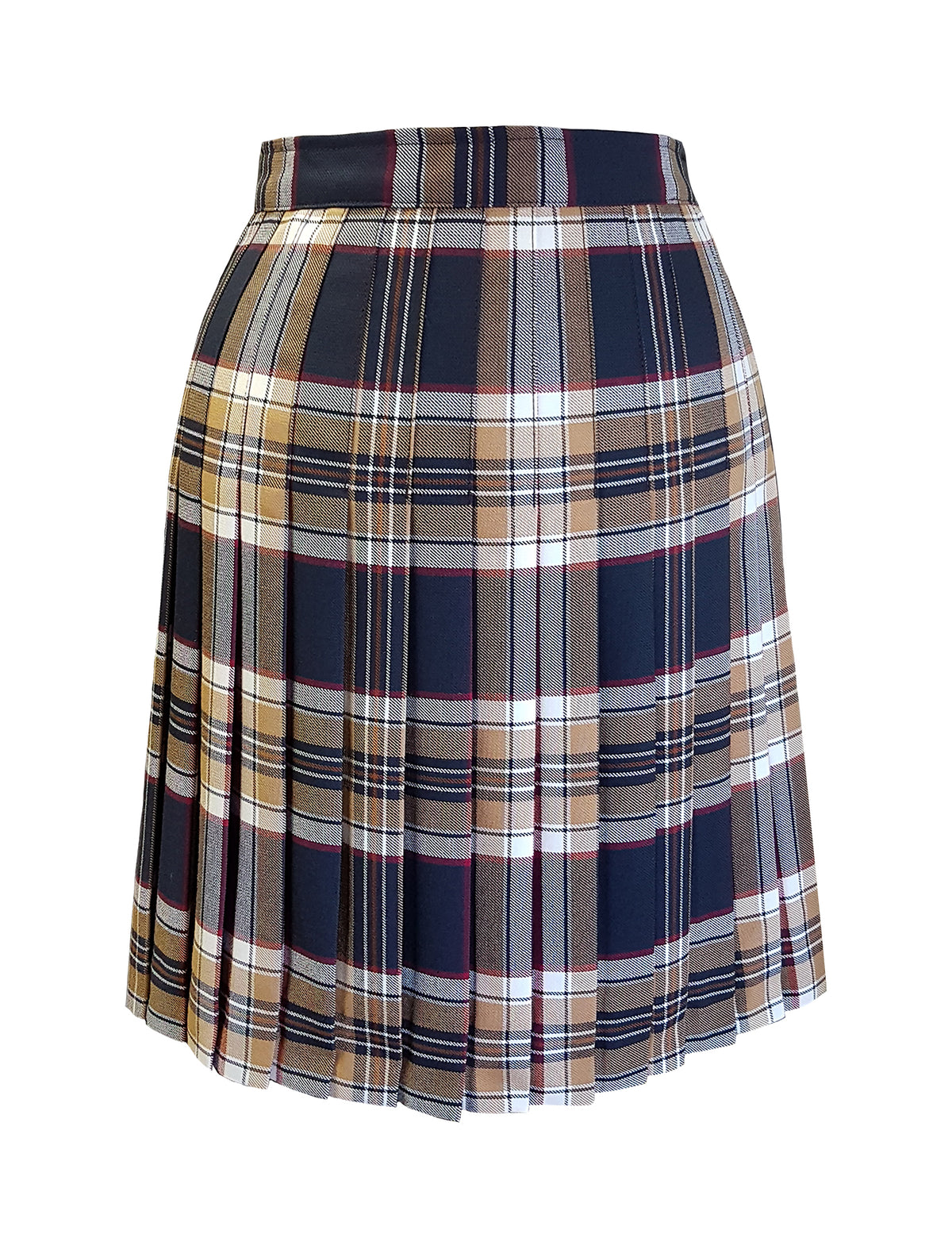 TARTAN SKIRT, REGULAR BACK, UP TO SIZE 29