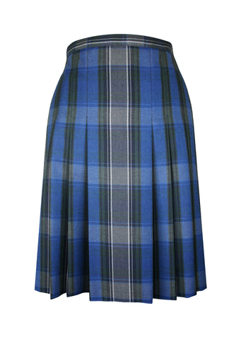 TARTAN SKIRT, ADJUSTABLE WAIST