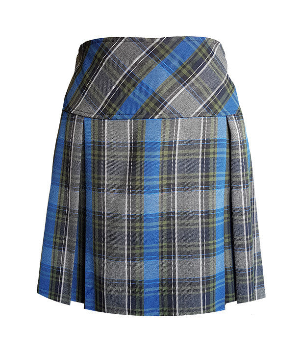 TARTAN TENNIS SKORT, ELASTIC BACK  <br>50% OFF<br>FINAL SALE