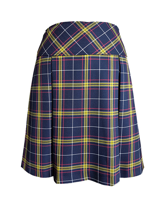 TARTAN TENNIS SKIRT, REGULAR BACK, UP TO SIZE 25