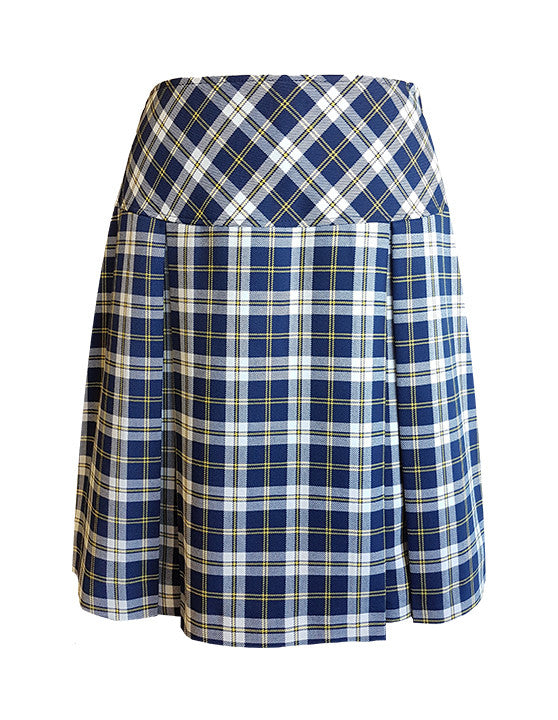 TARTAN TENNIS SKORT, ADJUSTABLE WAIST, YOUTH