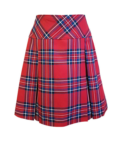 TARTAN TENNIS SKORT, ADJUSTABLE WAIST