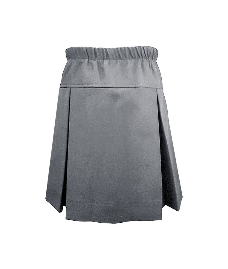 GREY FULL ELASTIC TENNIS SKORT