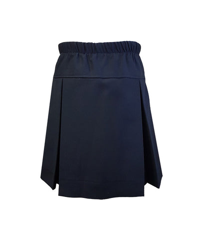 NAVY FULL ELASTIC TENNIS SKORT