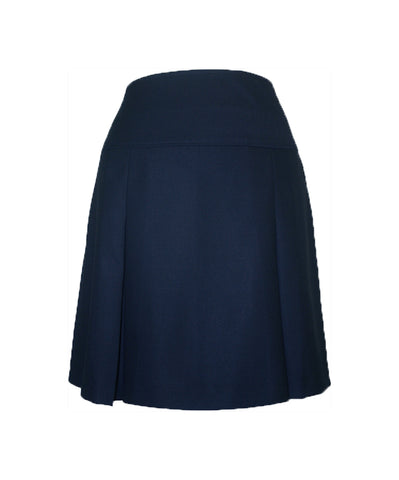 NAVY ELASTIC BACK TENNIS SKORT