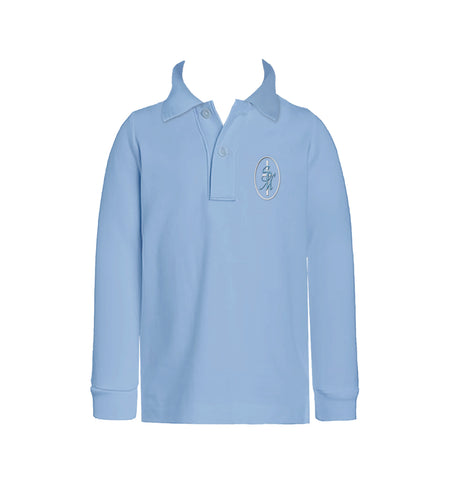 ST. MARY'S GOLF SHIRT, UNISEX, LONG SLEEVE, CHILD
