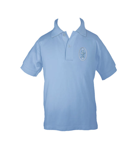 ST. MARY'S GOLF SHIRT, UNISEX, SHORT SLEEVE, CHILD