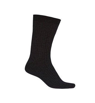 BLACK ANKLE SOCKS, ADULT