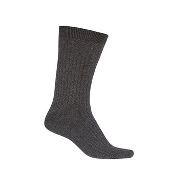 GREY ANKLE SOCKS, ADULT