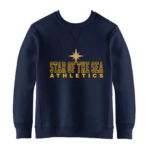 STAR OF THE SEA CREWNECK SWEATSHIRT, ADULT