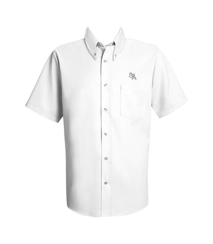ST. THOMAS AQUINAS DRESS SHIRT, SHORT SLEEVE, MENS