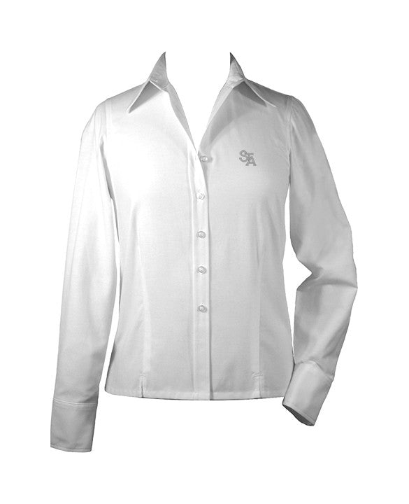 ST. THOMAS AQUINAS LADIES BLOUSE, LONG SLEEVE