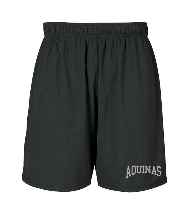 ST. THOMAS AQUINAS GYM SHORTS, WICKING, YOUTH
