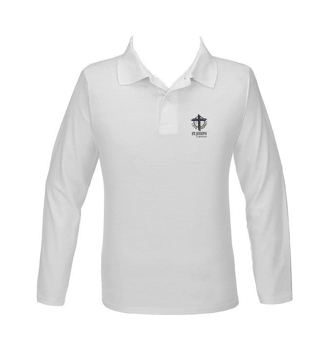 ST. JOSEPH GOLF SHIRT, UNISEX, LONG SLEEVE, YOUTH