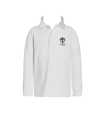 ST. JOSEPH GOLF SHIRT, UNISEX, LONG SLEEVE, CHILD