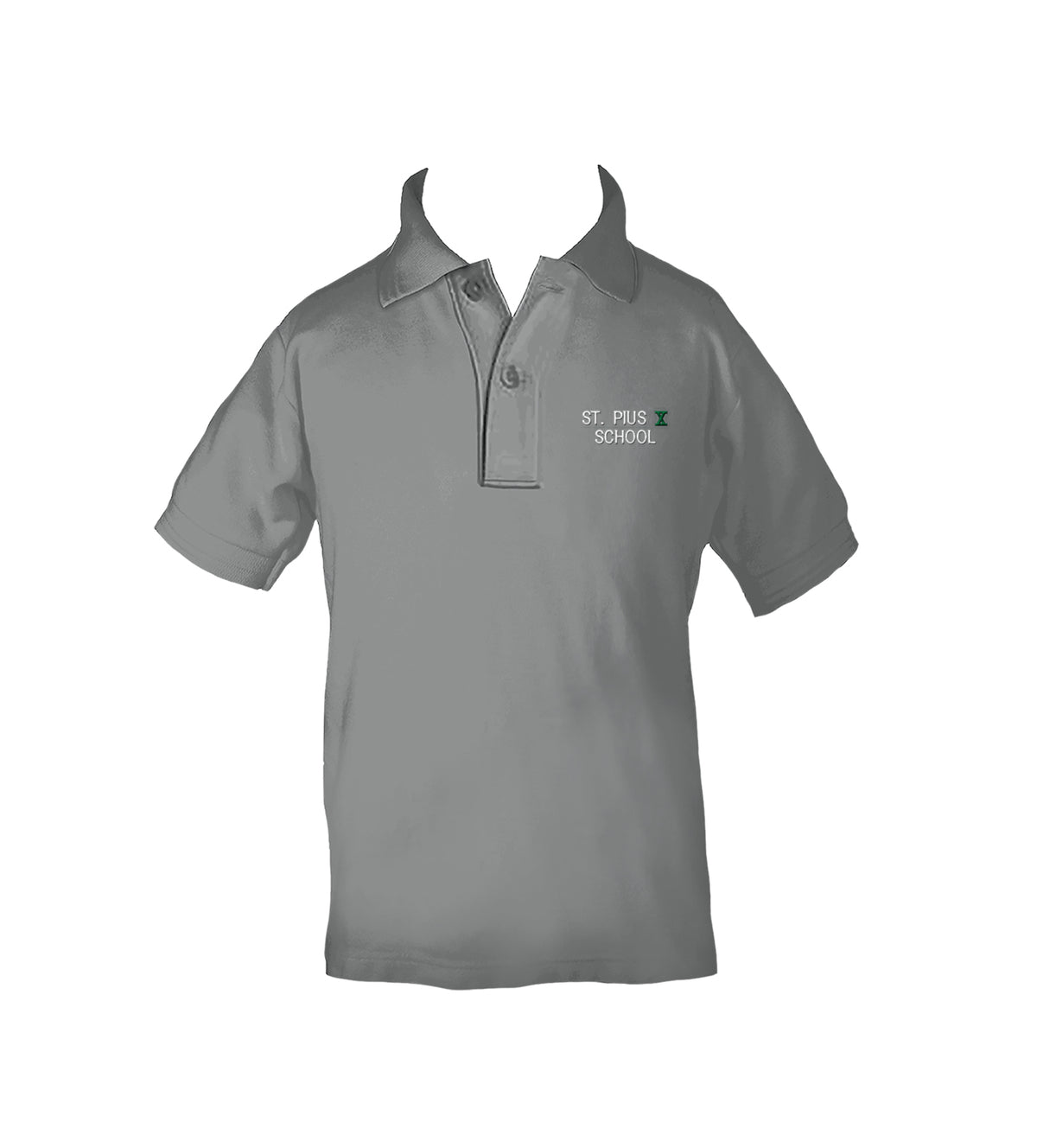 ST. PIUS GOLF SHIRT, UNISEX, SHORT SLEEVE, CHILD