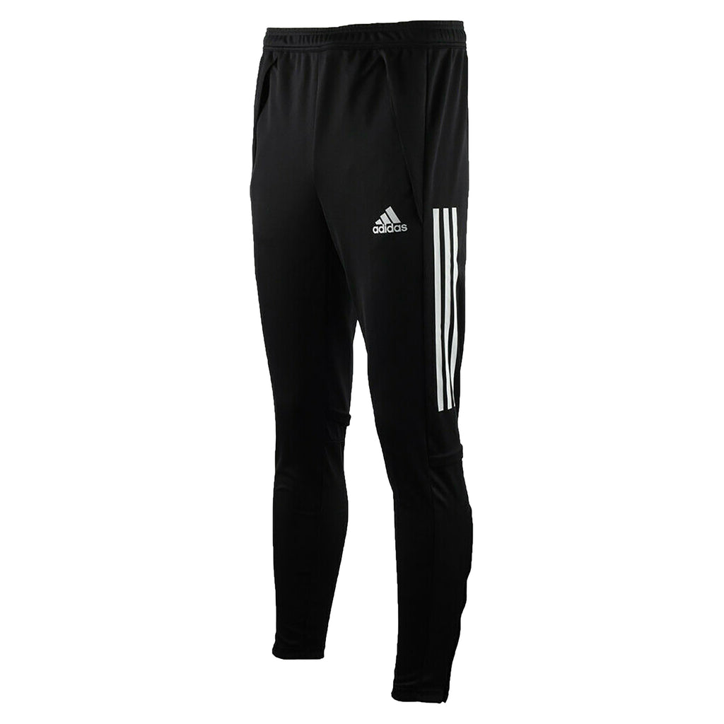 BLACK TRACK PANTS, POLYESTER DOUBLE KNIT, YOUTH