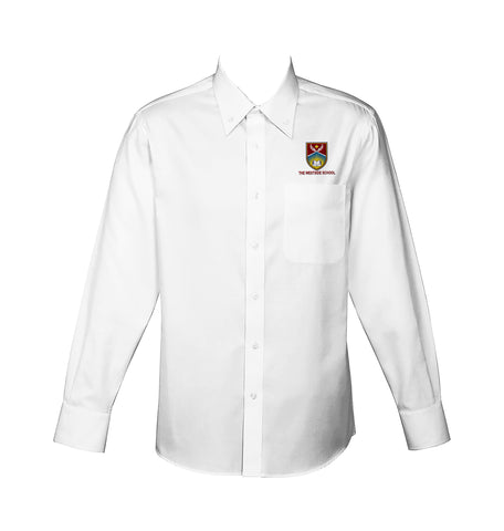 THE WESTSIDE SCHOOLS DRESS SHIRT, UNISEX, LONG SLEEVE, YOUTH