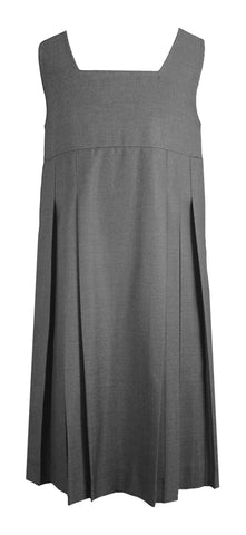 GREY TUNIC, STANDARD FRONT PLEATS