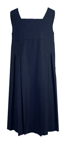 NAVY TUNIC, STANDARD FRONT PLEATS