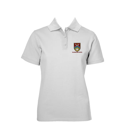 THE WESTSIDE SCHOOLS GOLF SHIRT, GIRLS, SHORT SLEEVE, ADULT