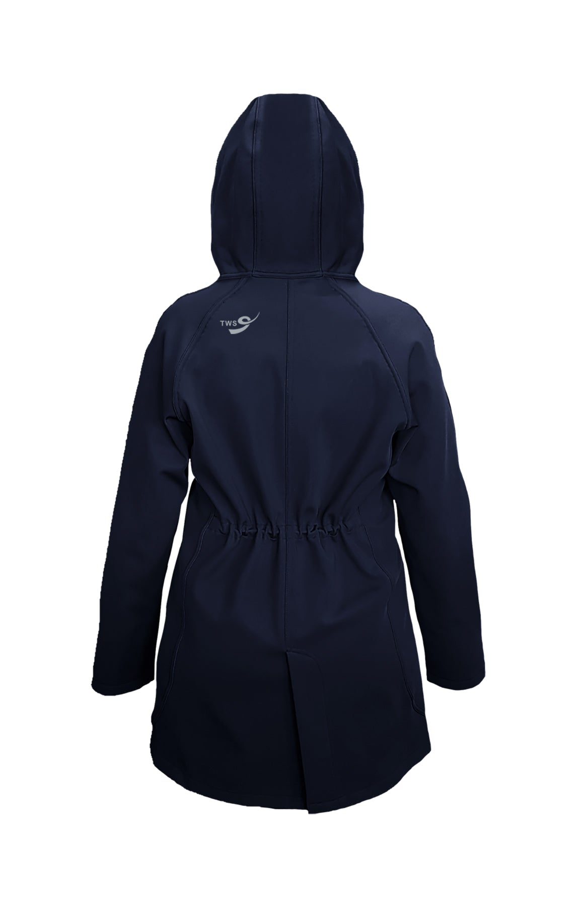 THE WESTSIDE SCHOOL K-9 RAIN COAT WITH HOOD, GIRLS, YOUTH