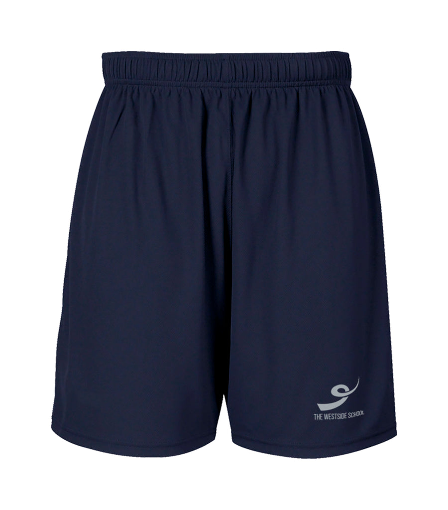 THE WESTSIDE SCHOOLS SHORTS, WICKING, ADULT